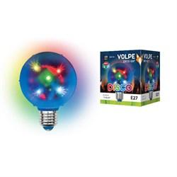Светодиодный светильник-проектор Volpe Disko ULI-Q308 1,5W/RGB/E27 UL-00002761