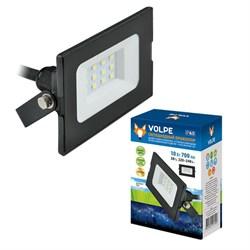 Прожектор светодиодный Volpe ULF-Q513 10W/DW IP65 220-240В Black UL-00003983