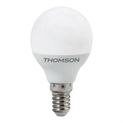 Лампа светодиодная диммируемая Thomson E14 6W 4000K шар матовая TH-B2154