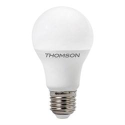 Лампа светодиодная диммируемая Thomson E27 9W 4000K груша матовая TH-B2158