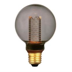 Лампа светодиодная диммируемая Hiper E27 4,5W 1800K дымчатая HL-2223