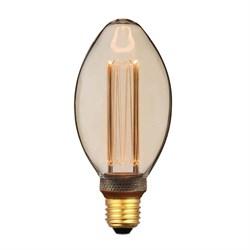 Лампа светодиодная диммируемая Hiper E27 4,5W 1800K янтарная HL-2236