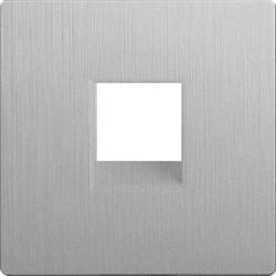 Накладка Werkel для RJ11 серебряный рифленый WL09-RJ-11-CP 4690389130076