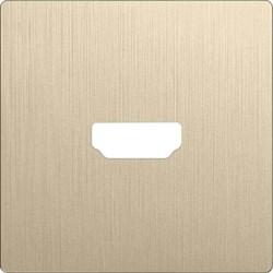 Накладка Werkel для розетки HDMI шампань рифленый WL10-HDMI-CP 4690389128332