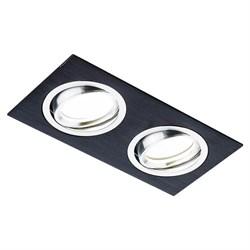 Встраиваемый светильник Ambrella light Classic A601/2 BK