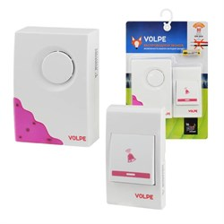 Звонок беспроводной Volpe UDB-Q026 W-R1T1-16S-80M-WH UL-00002402