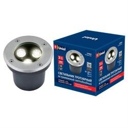 Ландшафтный светодиодный светильник Uniel ULU-B10A-3W/2700K IP67 Grey UL-00006820
