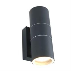 Уличный настенный светильник Arte Lamp Sonaglio A3302AL-2GY
