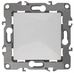 Выключатель одноклавишный ЭРА 12 10AX 250V Al Cu 12А-1001-01 Б0038584