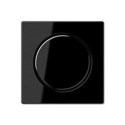Накладка для поворотного диммера Jung черная A1540SW