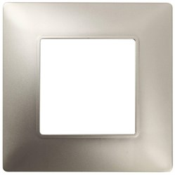 Рамка 1-постовая ЭРА Elegance 14-5001-04 Б0034384