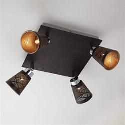 Потолочный светильник Eurosvet 20061/4 черный