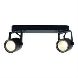Спот Arte Lamp Lente A1310PL-2BK