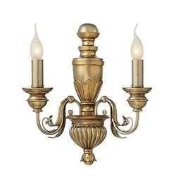 Бра Ideal Lux Firenze Ap2 Oro Antico