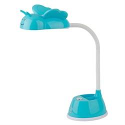 Настольная лампа ЭРА NLED-434-6W-BU Б0031616