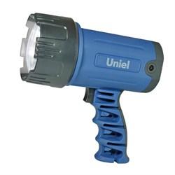 Фонарь-прожектор светодиодный Uniel аккумуляторный 150 лм S-SL010-BA Blue 03488