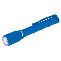 Ручной светодиодный фонарь Uniel от батареек 125х21 17 лм S-WP010-С Blue 08331