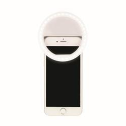 Светодиодный фонарь для селфи (UL-00002623) Uniel от батареек S-Hl100-B White