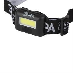 Налобный светодиодный фонарь ЭРА от батареек GB-607 Б0039620