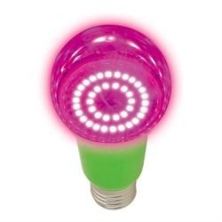 Лампа светодиодная для растений Uniel E27 8W прозрачная LED-A60-8W/SPSB/E27/CL PLP30GR UL-00004581