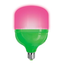 Лампа светодиодная для растений Uniel E27 20W матовая LED-M80-20W/SPSB/E27/FR PLS55GR UL-00006261