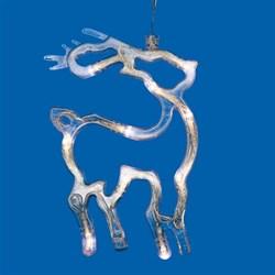 Подвесной светодиодный светильник «Олень» Uniel ULD-H1419-010/STA/3AAA Warm White IP20 Deer UL-00007252