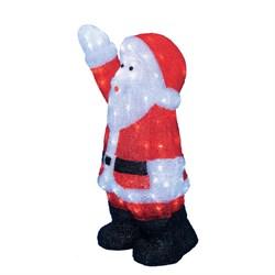 Фигурка светодиодная «Дед Мороз» 38х24x60см Uniel ULD-M3860-120/STA White IP20 Xmasman UL-00002332