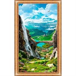 Постер в раме Toplight Пейзаж 59х109х2см TL-P6003