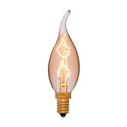 Лампа накаливания E14 40W золотая 052-078
