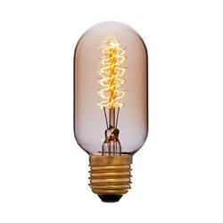 Лампа накаливания E27 40W золотая 051-941