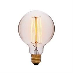 Лампа накаливания E27 40W золотая 051-996