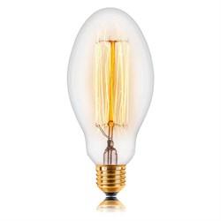 Лампа накаливания E27 60W прозрачная 053-419