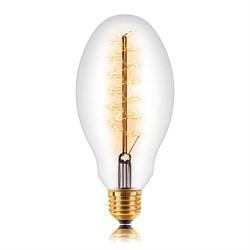 Лампа накаливания E27 60W прозрачная 053-686