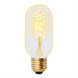 Лампа накаливания Uniel E27 40W золотистая IL-V-L45A-40/GOLDEN/E27 CW01 UL-00000486