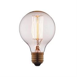 Лампа накаливания E27 40W прозрачная G8040
