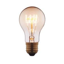 Лампа накаливания E27 60W прозрачная 1004-SC