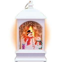 Светодиодный фонарь Снеговик Gauss Holiday HL030