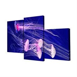 Мини модульная картина Toplight Животные 50х78см TL-MM1026