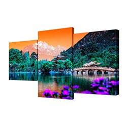 Мини модульная картина Toplight Пейзаж 50х78см TL-MM1025