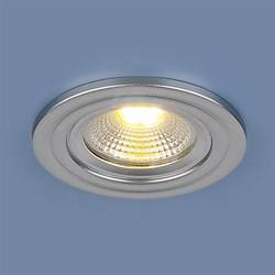 Встраиваемый светодиодный светильник Elektrostandard 9902 LED 3W COB SL серебро 4690389106118