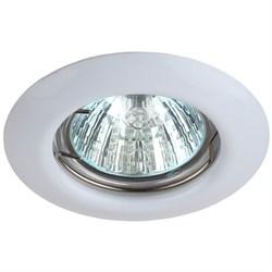 Встраиваемый светильник ЭРА Штампованный ST3 WH C0043801