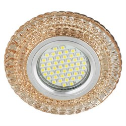 Встраиваемый светильник Fametto Fiore DLS-F131 GU5.3 Chrome/Gold