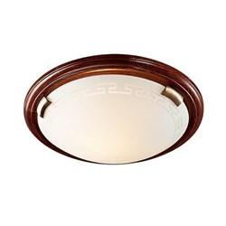 Потолочный светильник Sonex Greca Wood 160/K