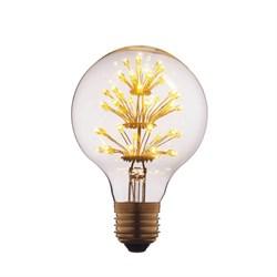 Лампа светодиодная филаментная E27 3W прозрачная G8047LED