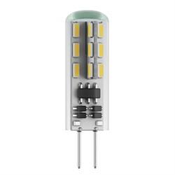 Лампа светодиодная филаментная Voltega G4 2.5W 2800К прозрачная VG9-K1G4warm2W 6983