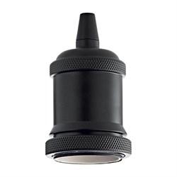 Патрон Ideal Lux Portalampada E27 Ghiera Nero 249209