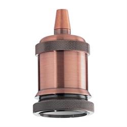 Патрон Ideal Lux Portalampada E27 Ghiera Rame Brunito 249223