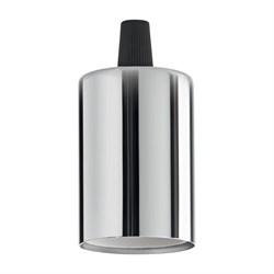 Патрон Ideal Lux Portalampada E27 Liscio Cromo 249230