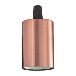 Патрон Ideal Lux Portalampada E27 Liscio Rame Brunito 249254