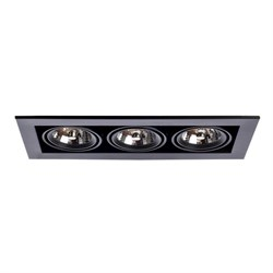 Встраиваемый светильник Arte Lamp Technika A5930PL-3BK